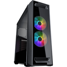 Cougar MX350 RGB Enhanced Visibility Mid-Tower PC Case