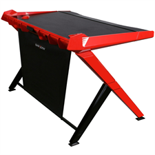 DXRacer Gaming Computer Desk GD-1000-NR-1 (Black/Red) Desktop Office Table (Free Next-Day Delivery for Karachi Only)
