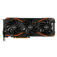 Gigabyte GV-N1080WF3OC-8GD GeForce® GTX 1080 WINDFORCE OC 8GB Video Graphics Card