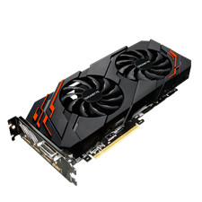 Gigabyte GV-N1070WF2OC-8GD Rev 2.0 GeForce GTX 1070 WINDFORCE OC  Video Graphics Card