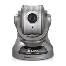 D-Link DCS-6620G 704 x 480 MAX Resolution RJ45 Wireless G Network Camera, Pan/Tilt/Zoom, 10x Optical Zoom, Dual Codec, 0.05Lux
