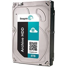 "Seagate Archive HDD v2 ST8000AS0002 8TB 5900 RPM 128MB Cache SATA 6.0Gb/s 3.5"" Internal Hard Drive – Bare Drive"