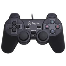 Lanjue L600 USB Shock Wired GamePad