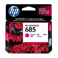 HP 685 Magenta Original Ink Advantage Cartridge (CZ123AA)