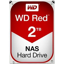 WD Red 2TB NAS Hard Disk Drive - 5400 RPM Class SATA 6Gb/s 64MB Cache 3.5 Inch