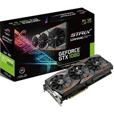 ASUS ROG GeForce GTX 1080 STRIX-GTX1080-A8G-GAMING 8GB 256-Bit GDDR5X PCI Express 3.0 HDCP Ready Video Card