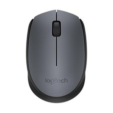 Logitech M171 Wireless Mouse - Grey/Black - 910-004655