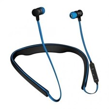 Space PULSE PL-651 Wireless Bluetooth Active Earphones (Blue)