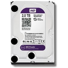 "Western Digital  WD Purple WD20PURX 2TB SATA 6.0Gb/s 3.5"" Surveillance Hard Drive"