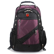 Laptop Backpack Waterproof, Purple