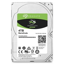Seagate 4TB Barracuda Sata 6GB/s 128MB Cache 2.5-Inch 15mm Internal Bare/OEM Hard Drive (ST4000LM024