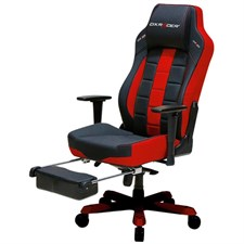 DXRacer Gaming Chair Classic Series GC-C120-NR-T1, Office Chair, Black Red