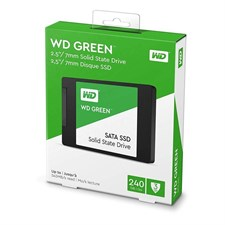 Western Digital (WD) Green 240GB PC Solid State Drive (SSD) - WDS240G2G0A
