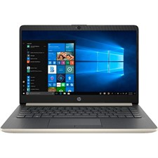 "HP 14-CF0006DX Laptop - 7th Gen Ci3 7100U - 4GB - 128GB SSD + 500GB HDD - 14"" HD - Windows 10 - Open Box"