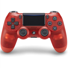 Sony DualShock PlayStation 4 Wireless Controller Red Crystal