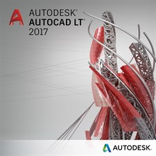 Autodesk AutoCAD LT 2017 For Windows - 1 Year