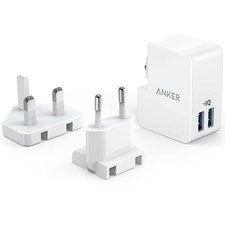 Anker PowerPort 2 Lite | 2-Port USB Wall Charger