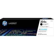 HP 204A Black Original LaserJet Toner Cartridge (CF510A)