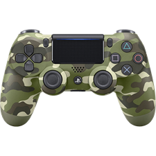 Sony DualShock PlayStation 4 Wireless Controller Green Camouflage
