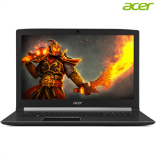 "Acer Aspire 7 A715-71G Gaming Laptop, 7th Gen Ci7 7700HQ 8GB 1TB NVIDIA GeForce GTX 1050 Ti 4GB GC 15.6"" FHD Win10"