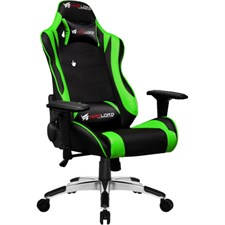 Warlord Horsemen X Gaming Chair - Black/Green