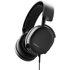 SteelSeries Arctis 3 (2019 Edition) All-Platform Wired Gaming Headset - Black - 61503 - For PC, PlayStation 4, Xbox One, Nintendo Switch, VR, Android, and iOS