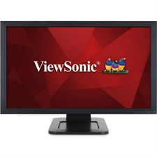"ViewSonic TD2421 24"" Full HD Optical Touch Monitor, MVA Panel, 24"" Display"