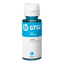 HP GT52 Blue Original Ink Bottle (M0H54A) - 70 ml