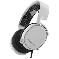 SteelSeries Arctis 3 (2019 Edition) All-Platform Wired Gaming Headset - White - 61506 - For PC, PlayStation 4, Xbox One, Nintendo Switch, VR, Android, and iOS