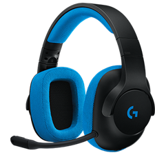 Logitech G233 PRODIGY Wired Gaming Headset, 981-000705