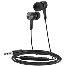 Hoco M54 Pure Music Wired Earphones With Microphone Black