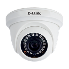 D-Link DCS-F1611 - 1MP HD Day & Night Fixed Dome Camera