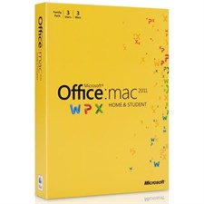 Microsoft Office Home and Student for Mac 2011 (3 Computers)