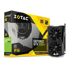 ZOTAC GeForce GTX 1050 Ti OC Edition 4GB GDDR5 Video Graphics Card, ZT-P10510B-10L