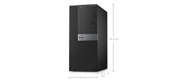Optiplex 3040 Desktop - Dimensions and weight