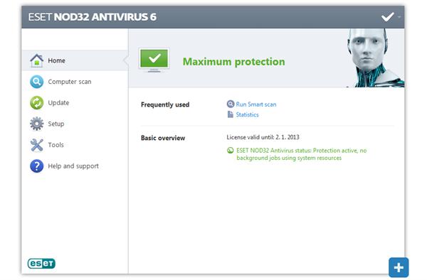 Screenshot Gallery for ESET NOD32 Antivirus 6 | Keep Your CPU Protected