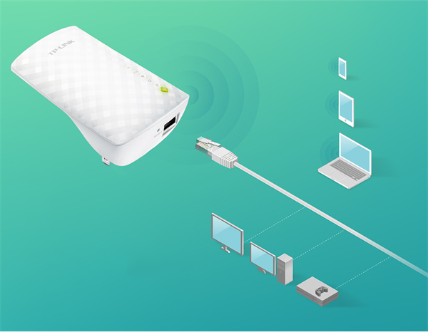 Image result for AC750 Range Extender Wi-Fi RE200