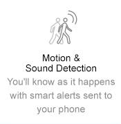 Motion and Sound Detection