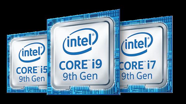 9th Gen Intel® Core™ family badge