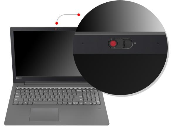 Lenovo V330 (15) physical camera shutter feature