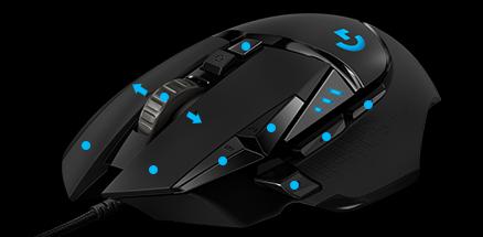 Logitech G502 HERO High Performance Gaming Mouse - 910-005472 Price in  Pakistan