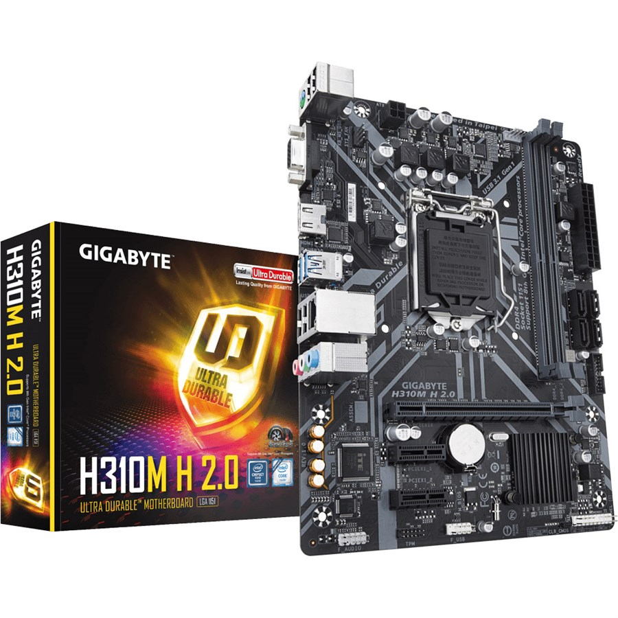 Gigabyte H310M H 2 0 Intel H310 Ultra Durable Motherboard Price in