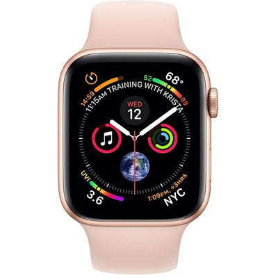 Apple Watch Series 4 Mu682 Gps 40mm Gold Aluminum Case With Pink
